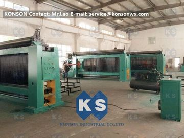 Çin 3.5 Meter Per Minute Automatic Gabion Mesh Machine With Wrapped Edge Machine Tedarikçi