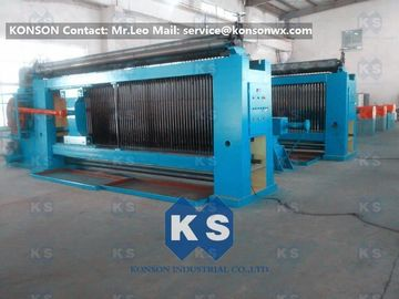 Çin Automatic Stop Gabion Mesh Machine For 2.2mm Galvanized Wire Gabion Mattress Tedarikçi