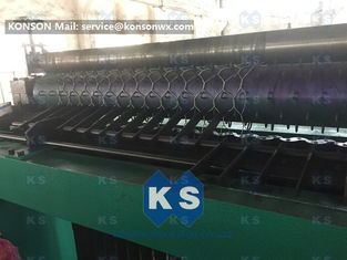 Durable Metal Hexagonal Mesh Machine For Making Gabion Mesh Spiral Coil