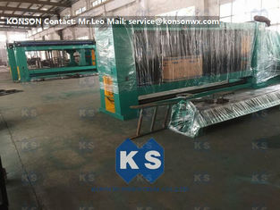 Wire Diameter 1.6-4.0mm Automated Gabion Machine Smooth Running Mesh size 80x100mm