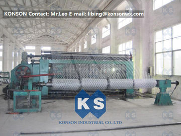Çin Automatic Hexagonal Wire Netting Weaving Machine / Gabion Mesh Production Line Tedarikçi