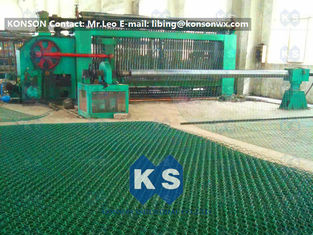 Çin High Corrosion Hexagonal Wire Netting Machine For Making Stone Cage 2x1x1m Tedarikçi