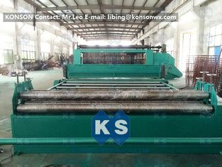 Çin Heavy Duty Gabion Mesh Machine 4300mm For Making Hexagonal Wire Netting High Efficiency Tedarikçi