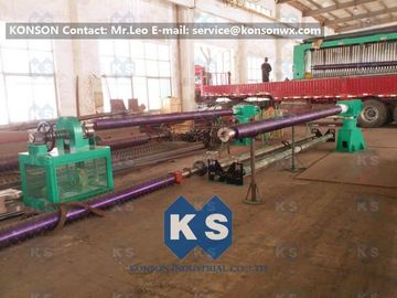 Çin Double Twist Gabion Machine / Gabion Production Line With Automatic Oil System Tedarikçi