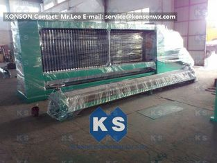 Çin 4300mm Max Width Gabion Machine Automatic Hexagonal Wire Mesh Line Tedarikçi