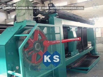 Çin Industrial Gabion Production Line Twist Mesh Welded Machine 80 X 100mm Width 4300mm Tedarikçi