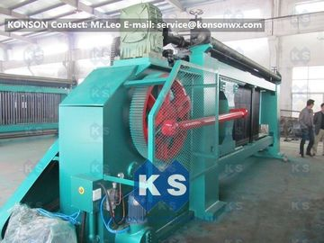 Çin Fully Automatic Hexagonal Mesh Machine For Making Gabion Net Stone Cages Tedarikçi