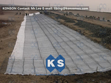 Çin Hot Dip Galvanized Hexagonal Wire Mesh Gabion Boxes For Water And Soil Erosion Preventing Tedarikçi