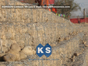 Çin Flexible Permeable Gabion Box Galvanized Wire Gabion Baskets Reno Mattress Tedarikçi