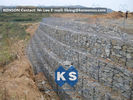 Çin Galvanized Wire Gabion Retaining Walls Plastic or Stainless Steel Wire PE Coating Gabion Mattress Fabrika