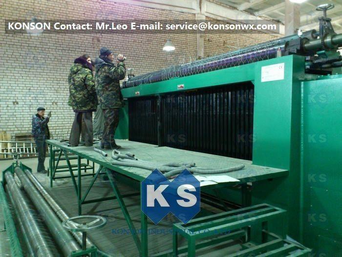 Customized Gabion Box Wire Mesh Machine For Galfan Galvanized Mesh ...