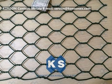 Çin Professional PVC Gabions Wire Mesh Box and Basket for Chicken Hexagonal Wire Netting Fabrika