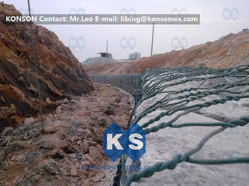 Çin Galvanized Gabion Basket Woven Hexagonal Wire Mesh PVC Coated Welded Gabions Fabrika
