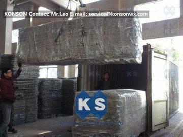 Çin Double Twisted Hexagonal Wire Mesh Hot-Dip Wire Galvanized Gabion Boxes Fabrika
