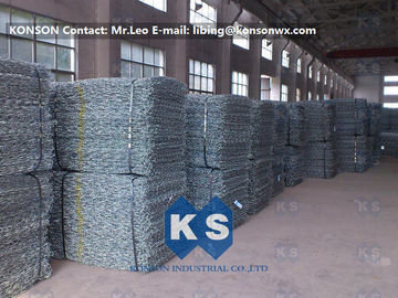 Çin Professional Galvanized Wire Gabion Basket Protection Engineering Stone Cages Fabrika
