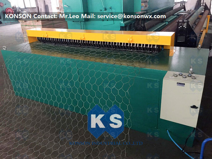 Border Reinforcement Gabion Box Machine Mesh Size 80 x 100mm One Year Warranty